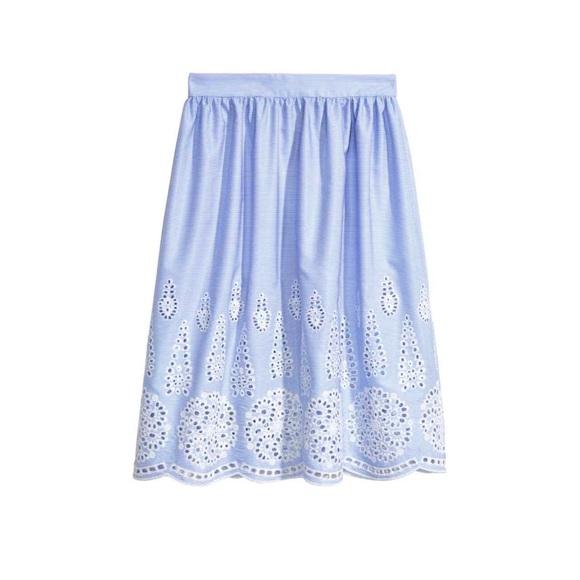 Konstantina Antoniadou - H&M Embroidered Skirt (Similar 1), Forever 21 Embroidered  Skirt (